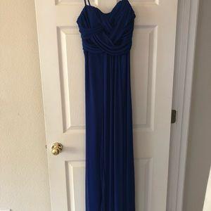 Dresses & Skirts - Royal blue spaghetti strap dress